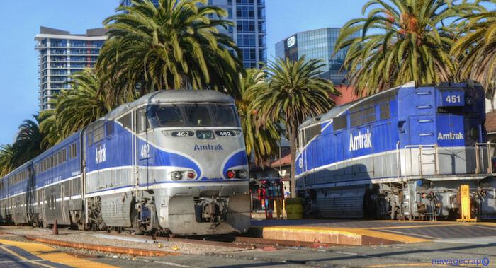 Surfliner Ankunft in San Diego