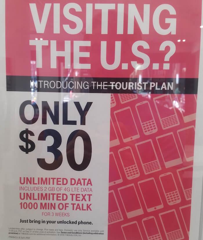Prepaid Karte In Den Usa Die 30 Flatrate Von T Mobile Entdecke