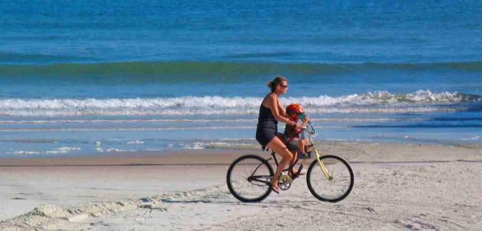 Beach Cruiser am Strand